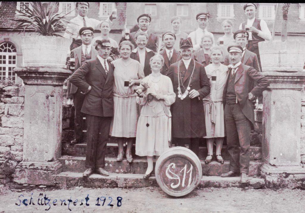 Majestäten in Welda 1928