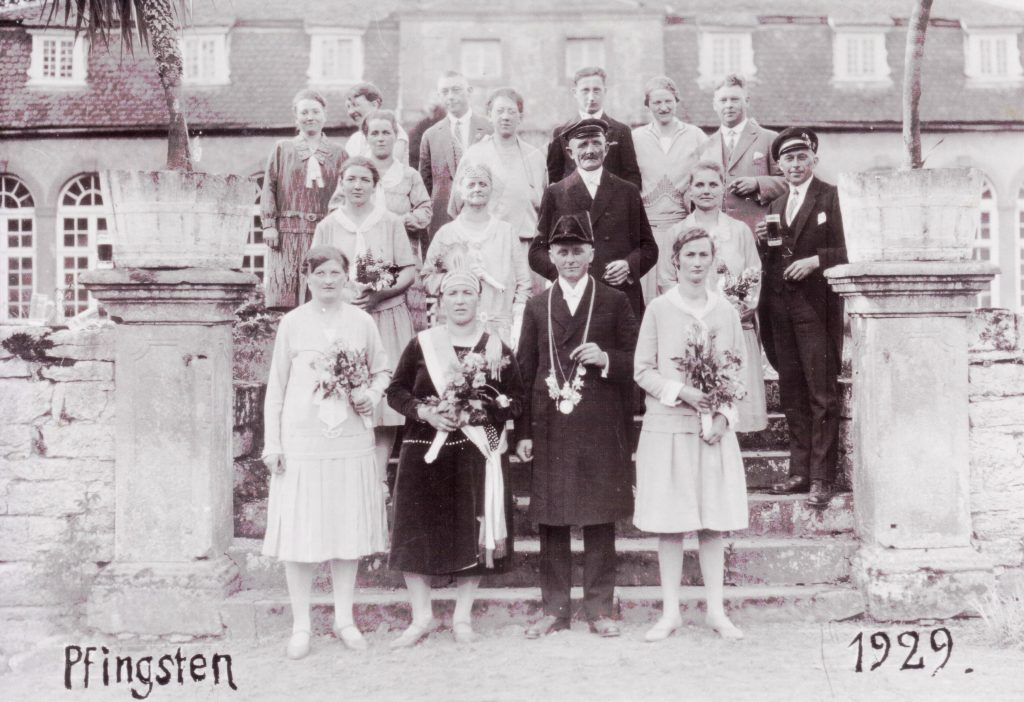 Majestäten in Welda 1929