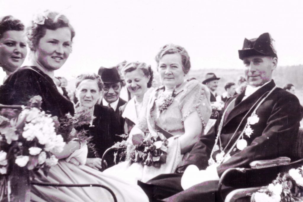Majestäten in Welda 1951
