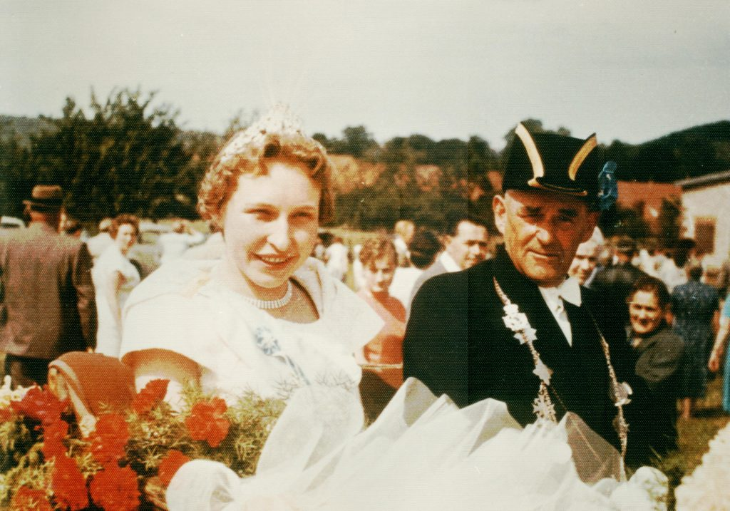 Majestäten in Welda 1959