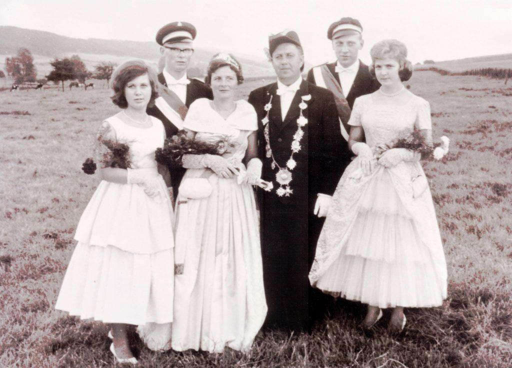 Majestäten in Welda 1962
