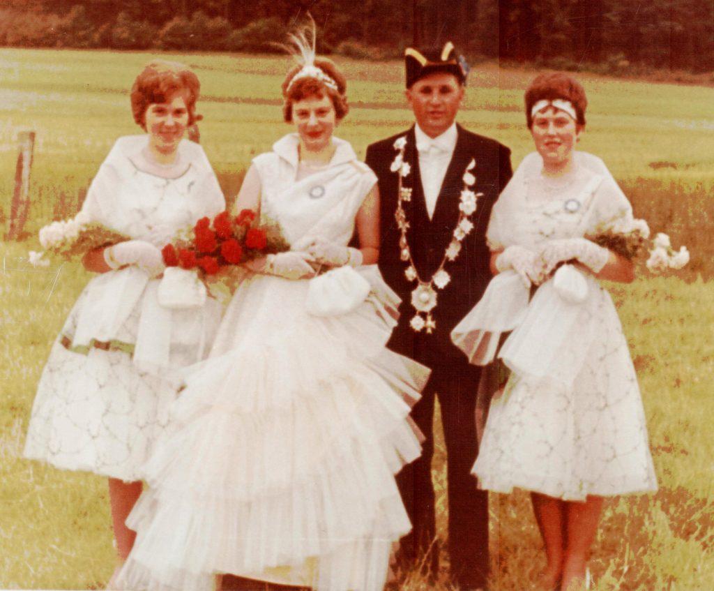 Majestäten in Welda 1963