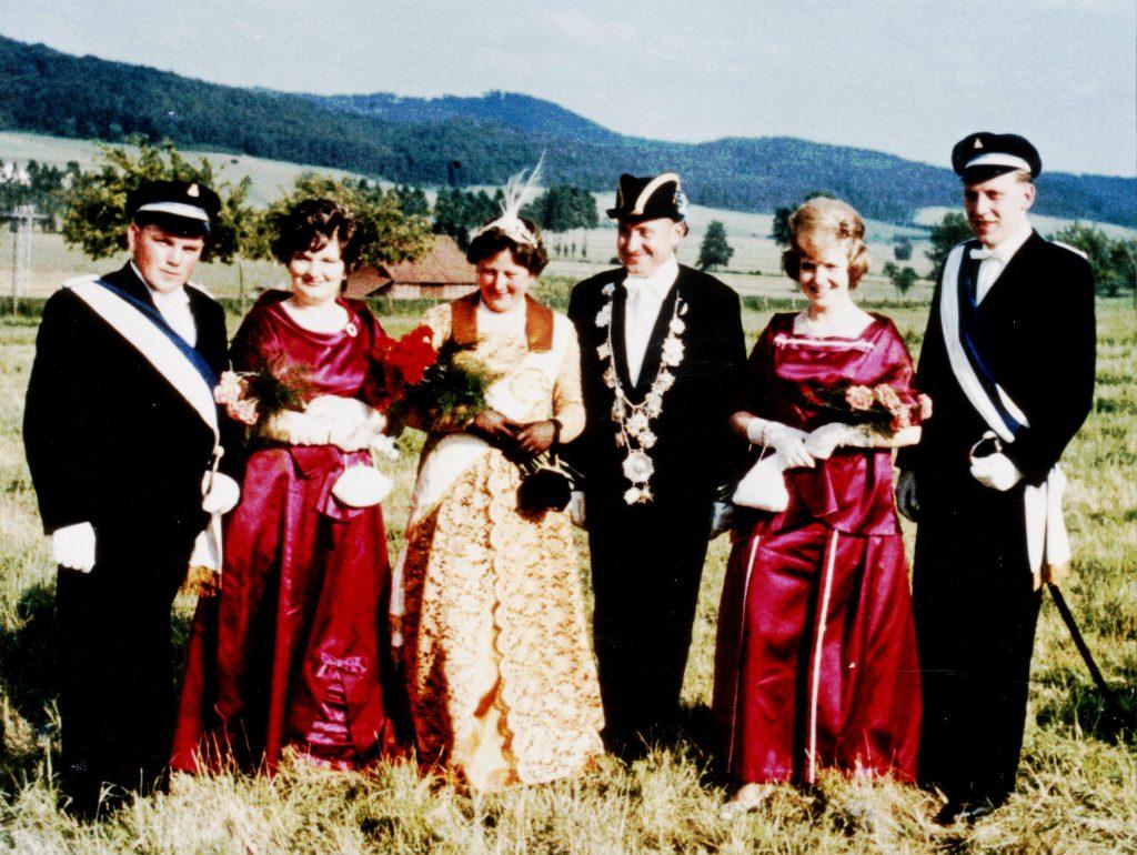 Majestäten in Welda 1965