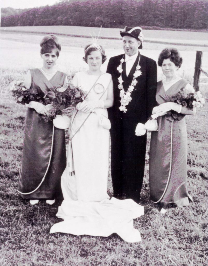 Majestäten in Welda 1967