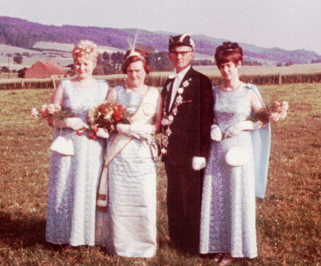 Majestäten in Welda 1968