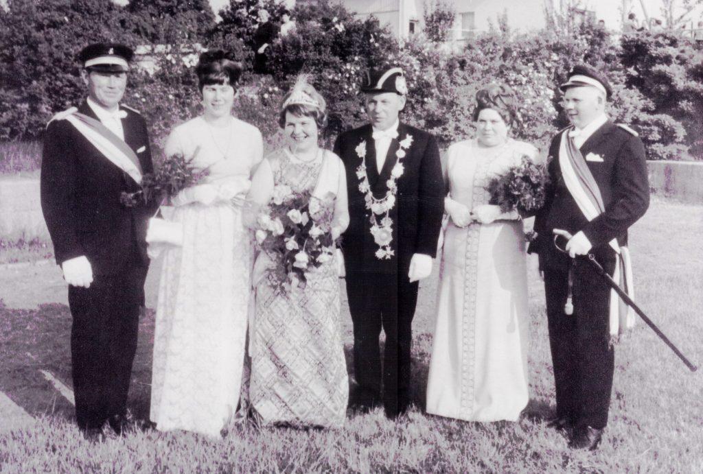 Majestäten in Welda 1970