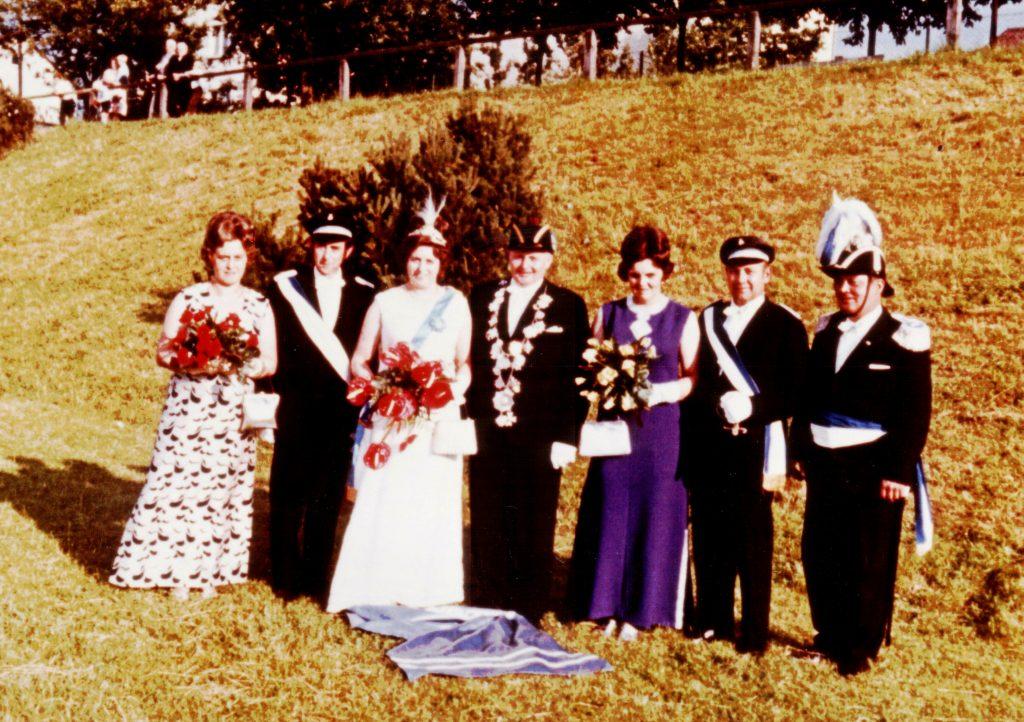 Majestäten in Welda 1971