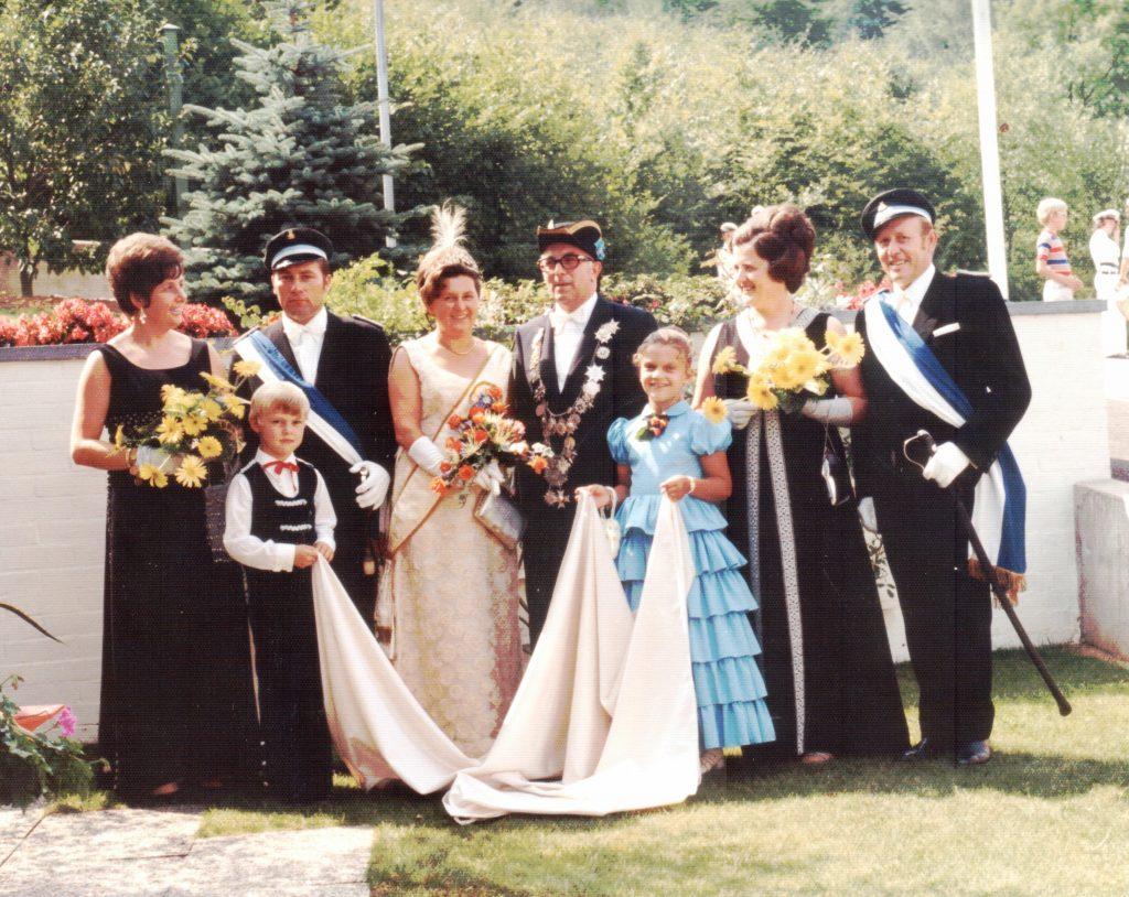 Majestäten in Welda 1972