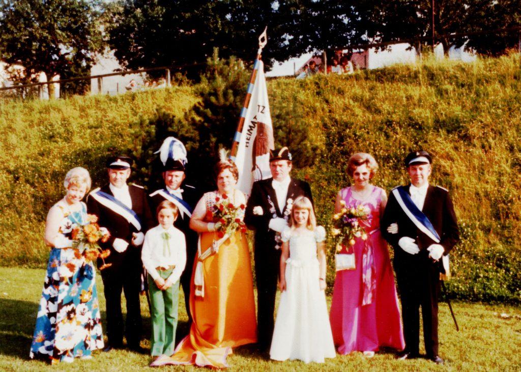 Majestäten in Welda 1974