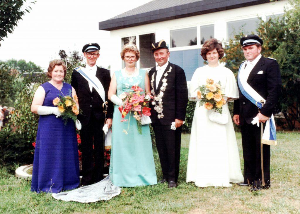 Majestäten in Welda 1976