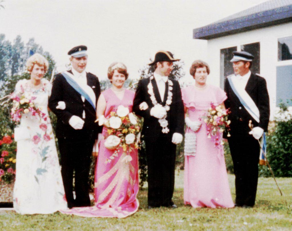 Majestäten in Welda 1977