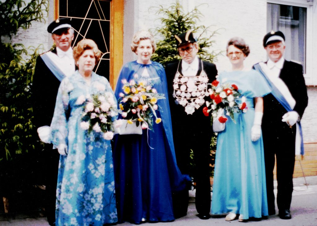 Majestäten in Welda 1978