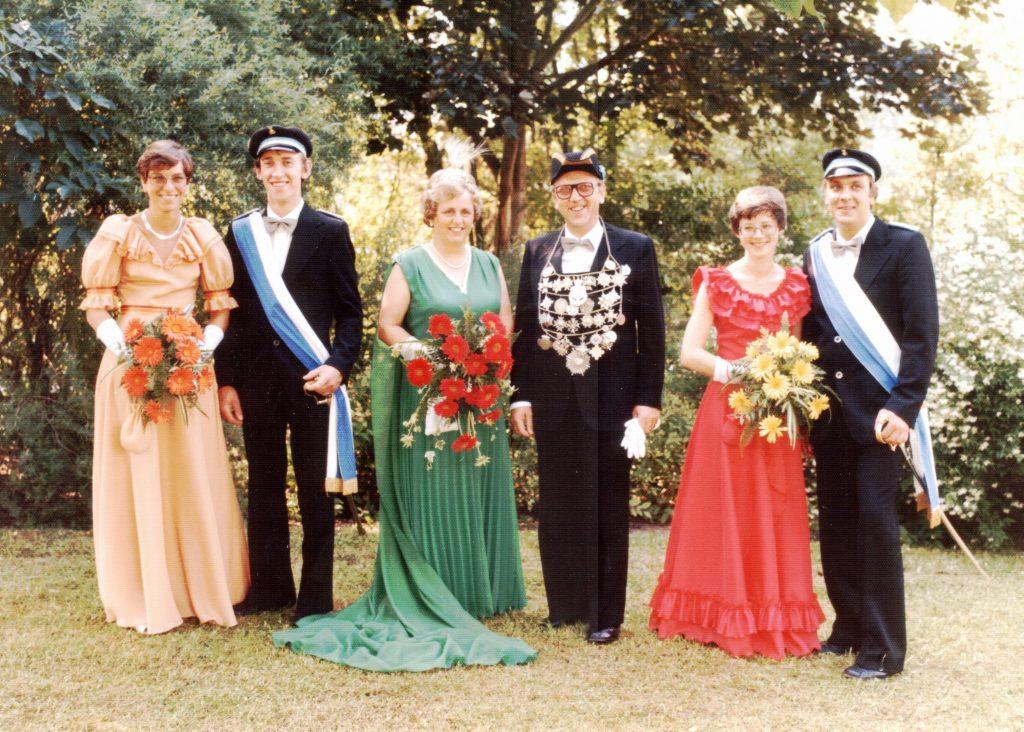 Majestäten in Welda 1979