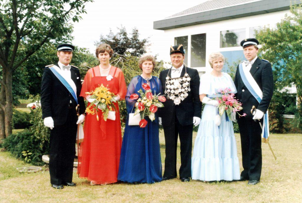 Majestäten in Welda 1980