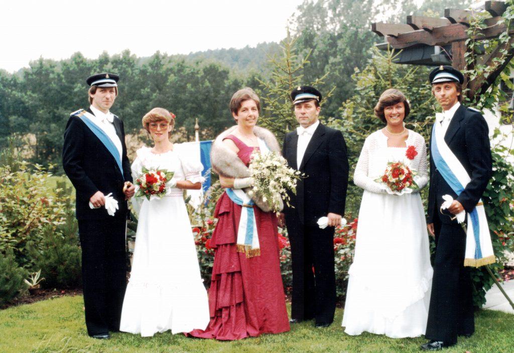 Majestäten in Welda 1981