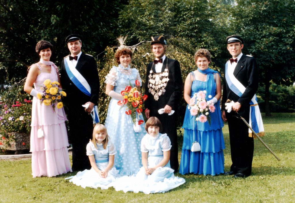 Majestäten in Welda 1982