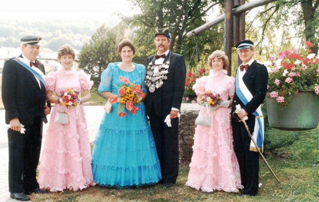 Majestäten in Welda 1983
