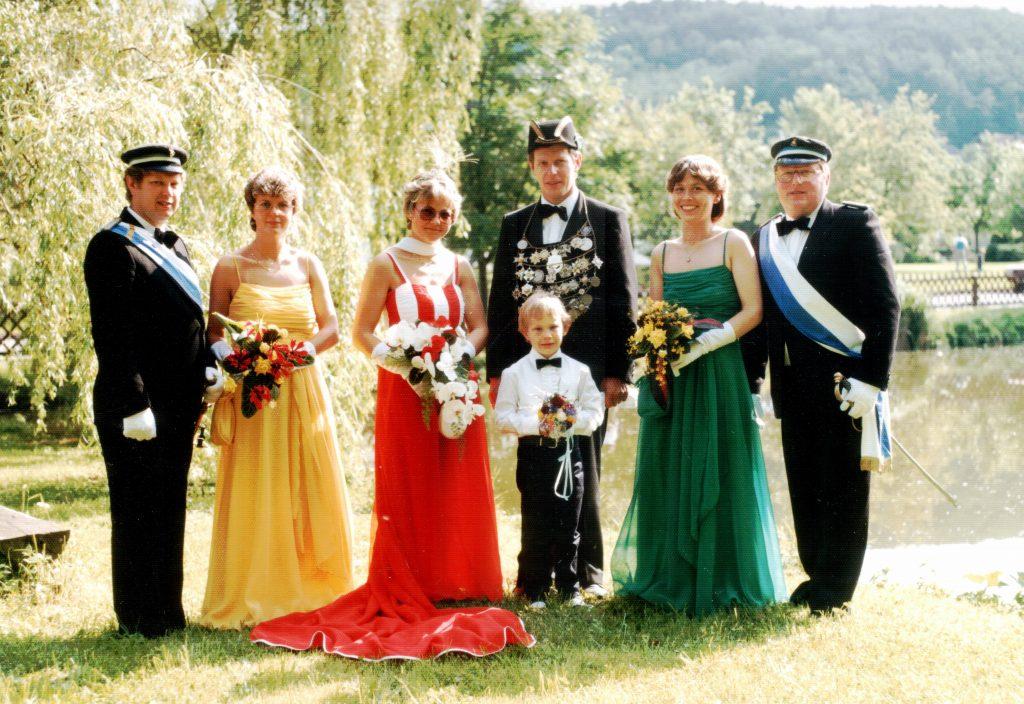 Majestäten in Welda 1984