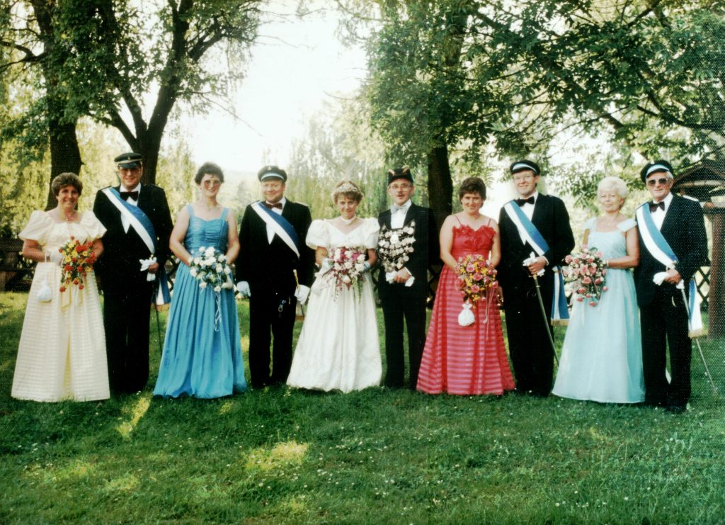 Majestäten in Welda 1987