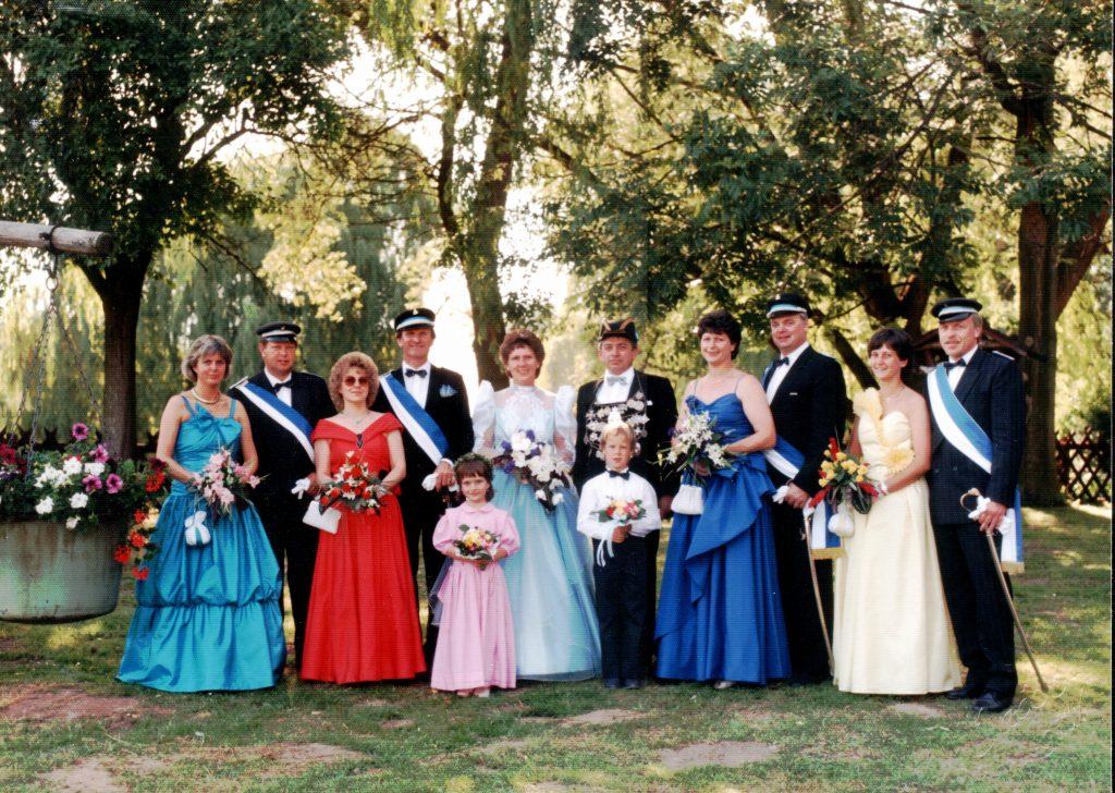 Majestäten in Welda 1988