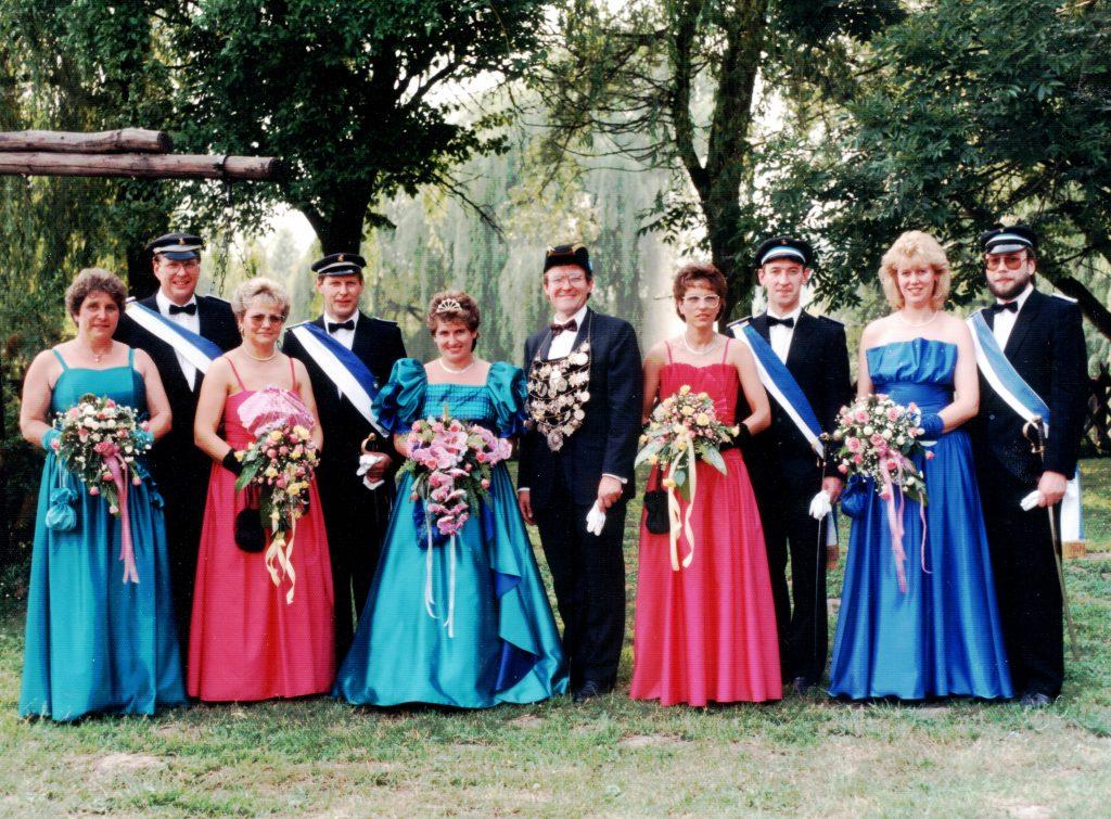 Majestäten in Welda 1989