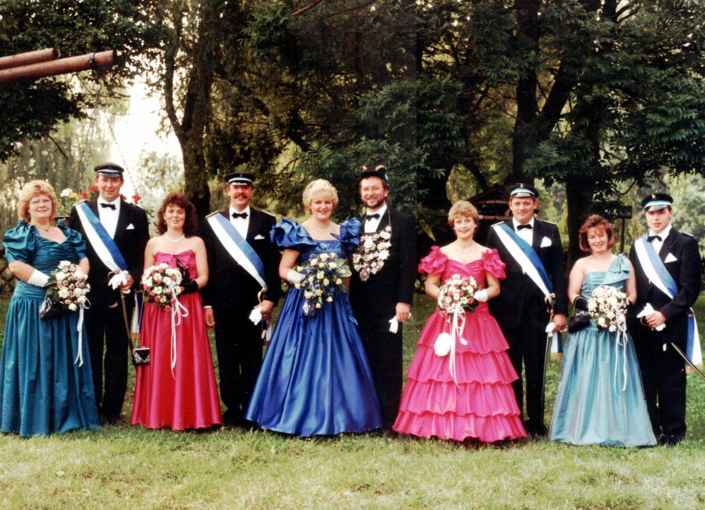 Majestäten in Welda 1990