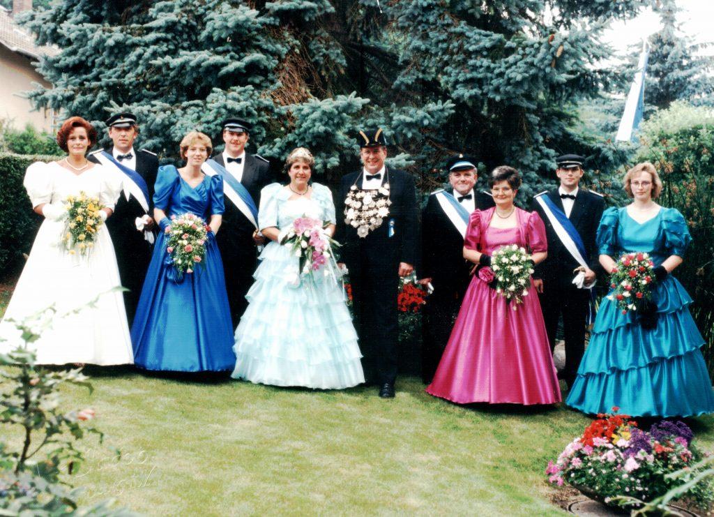 Majestäten in Welda 1991