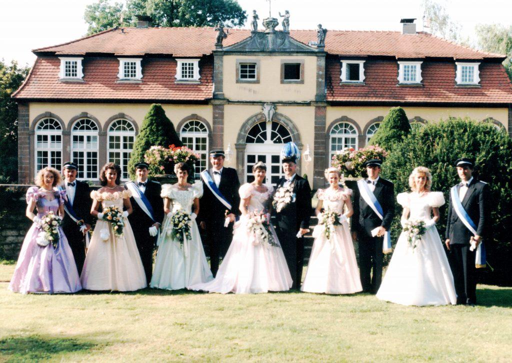 Majestäten in Welda 1992