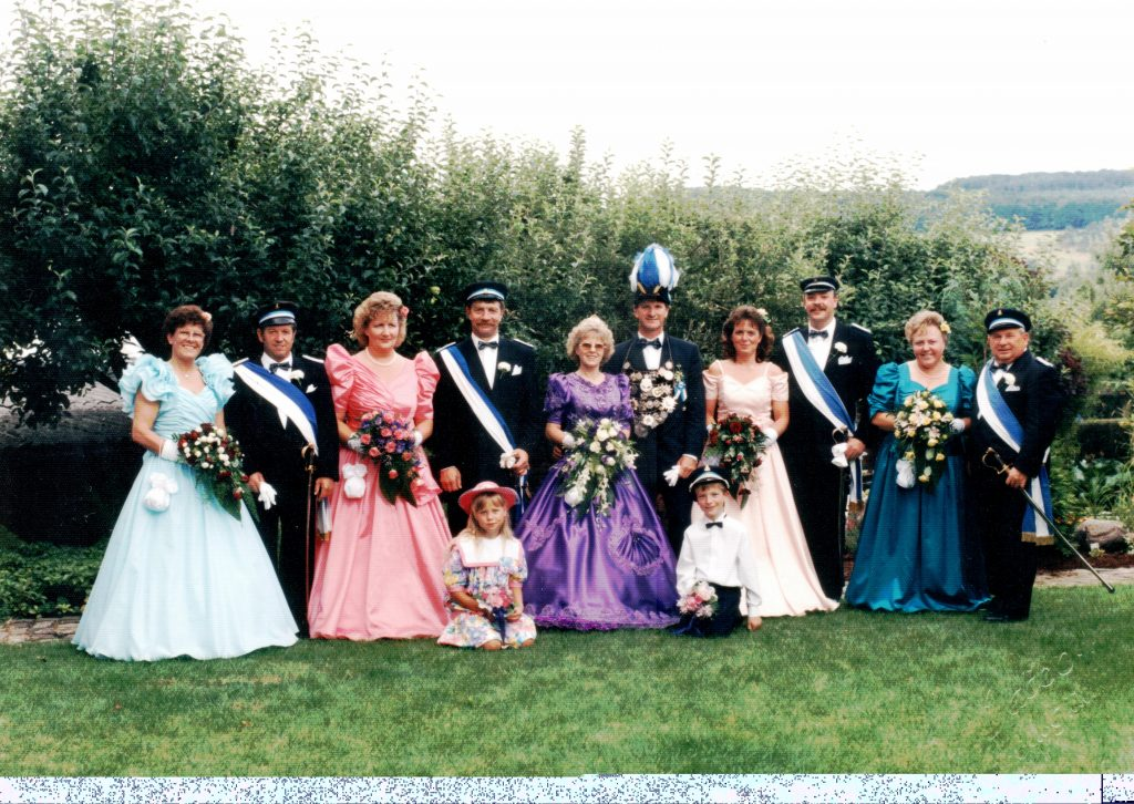 Majestäten in Welda 1993