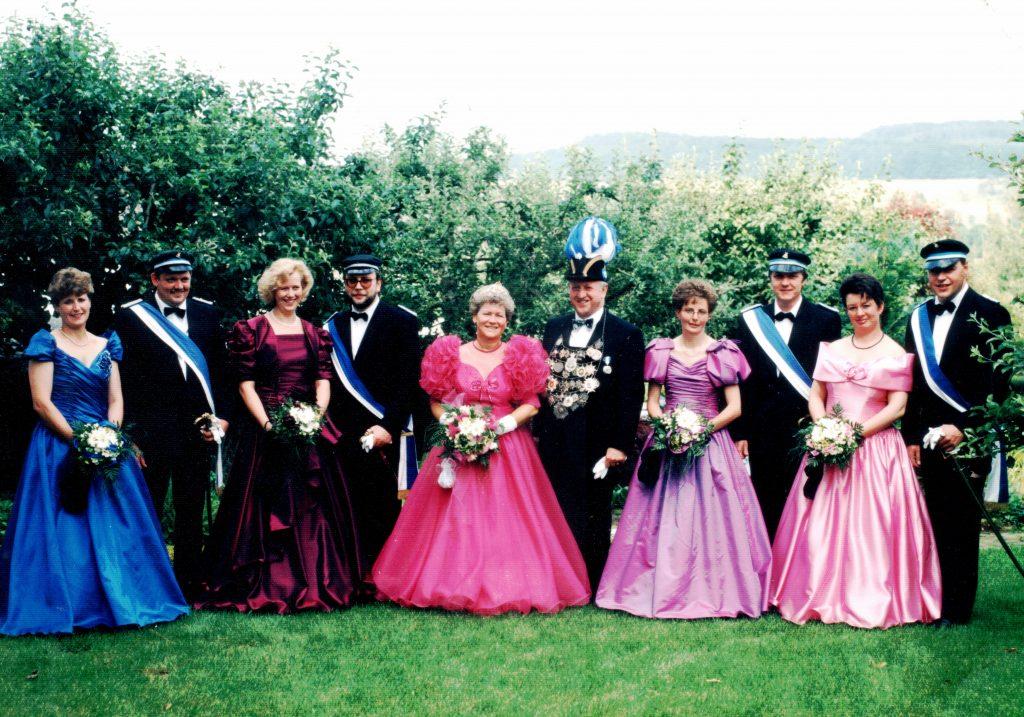 Majestäten in Welda 1994