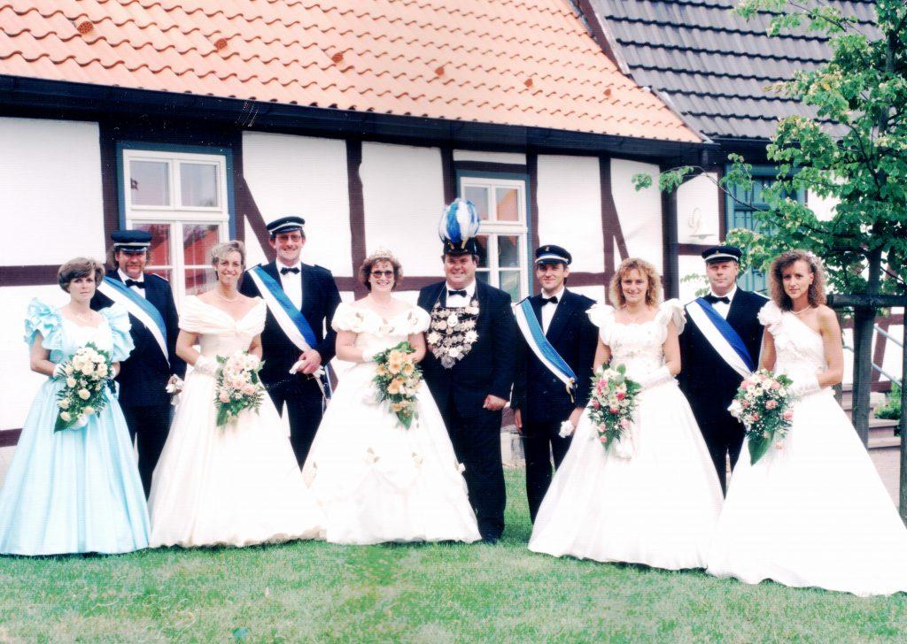 Majestäten in Welda 1995
