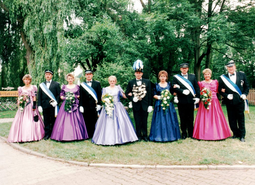 Majestäten in Welda 1996