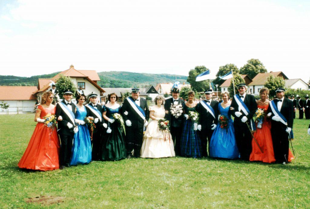 Majestäten in Welda 1998