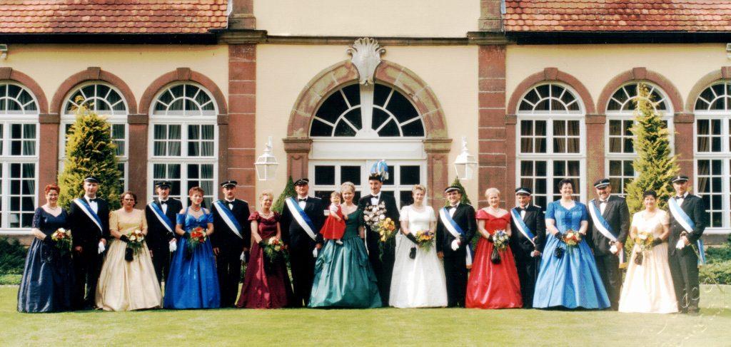 Majestäten in Welda 1999