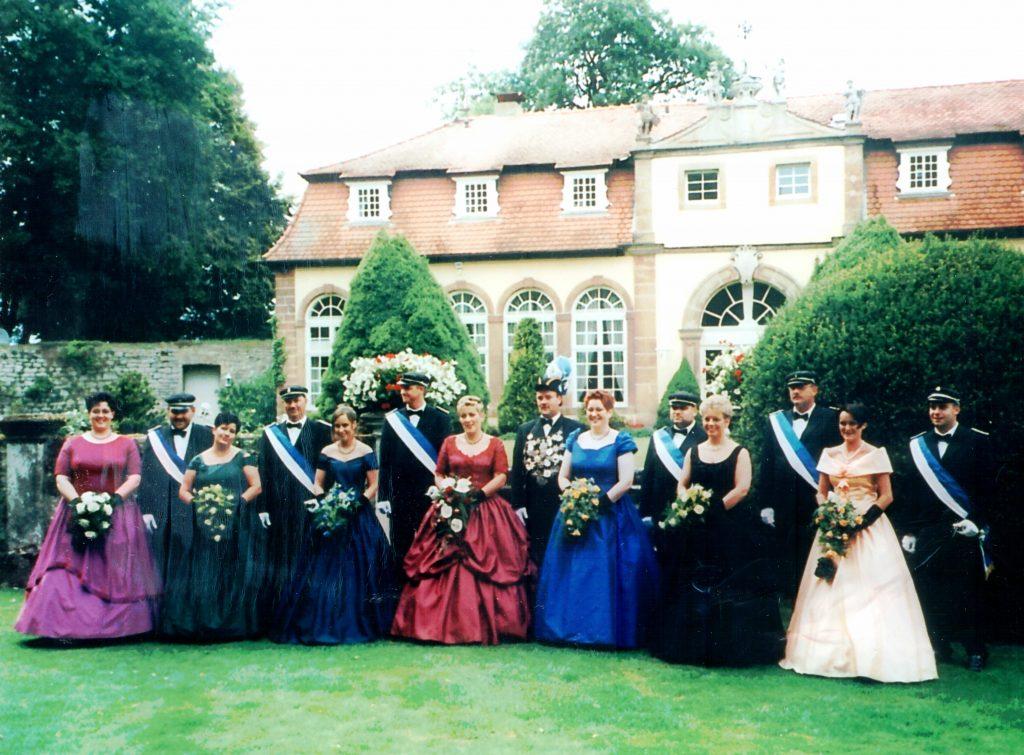 Majestäten in Welda 2000