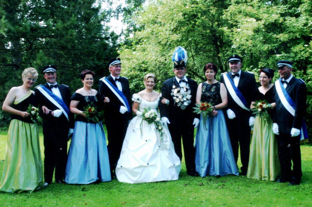 Majestäten in Welda 2002