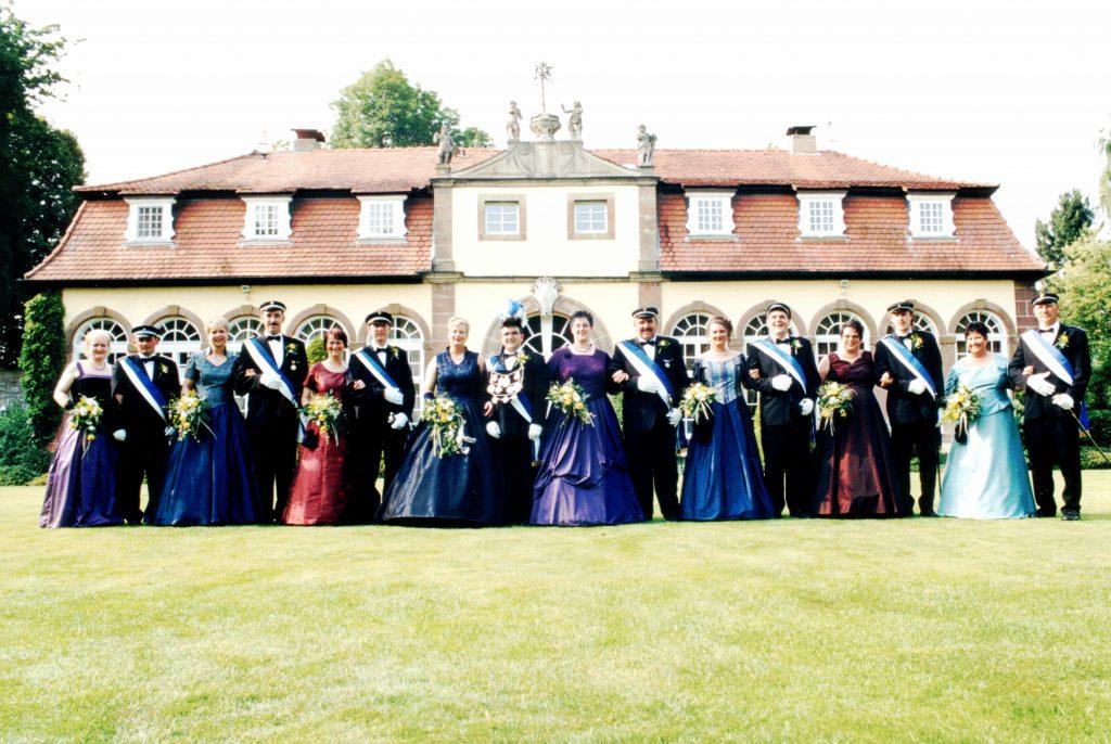 Majestäten in Welda 2003