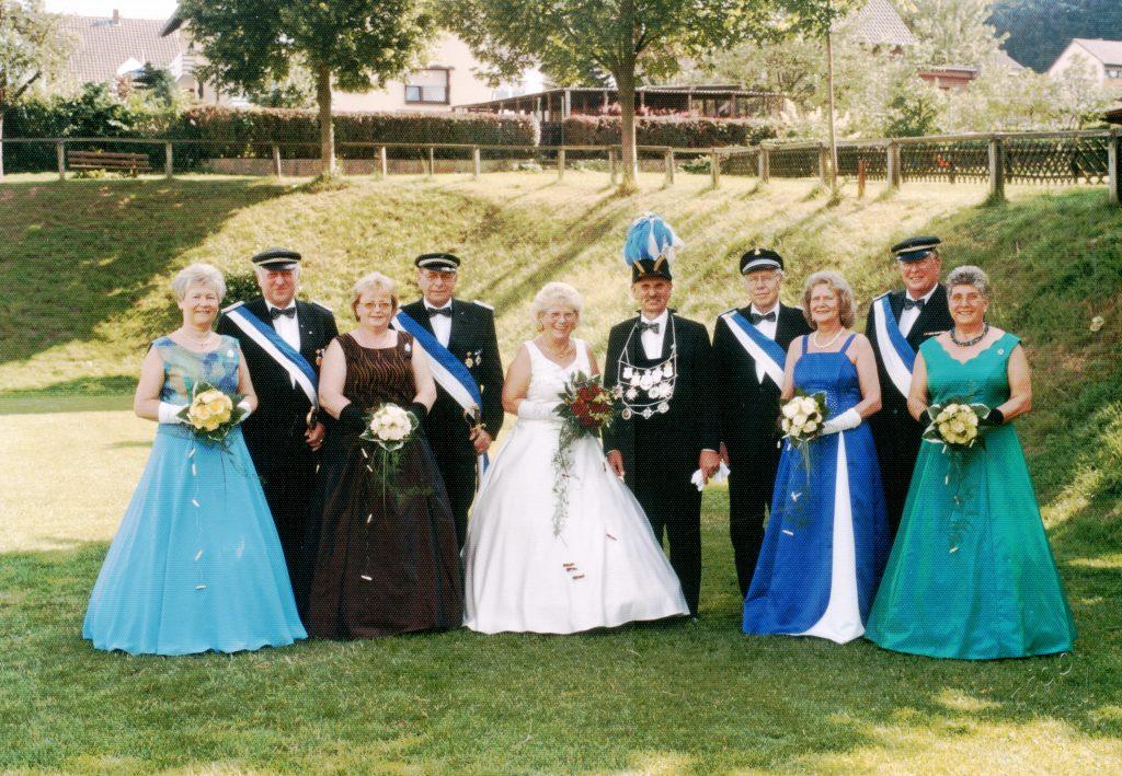 Majestäten in Welda 2004