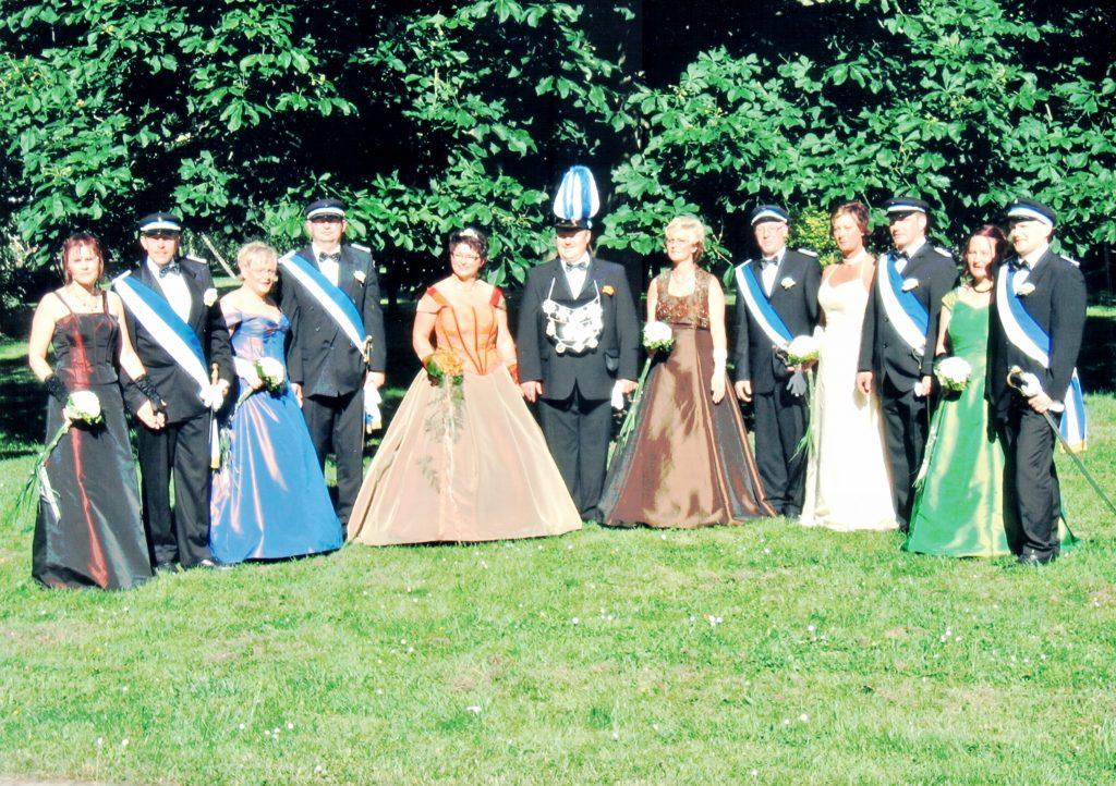 Majestäten in Welda 2005