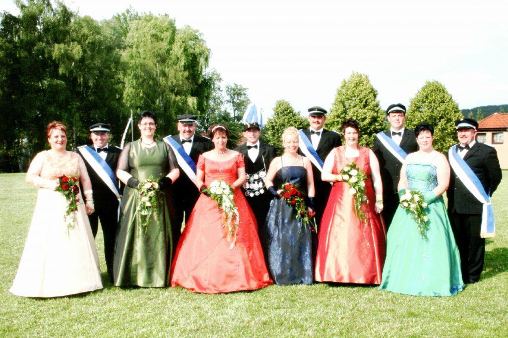 Majestäten in Welda 2006