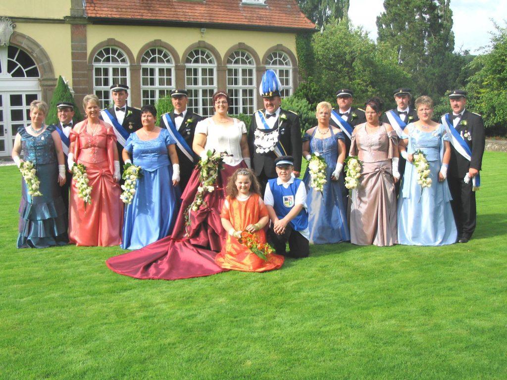 Majestäten in Welda 2007