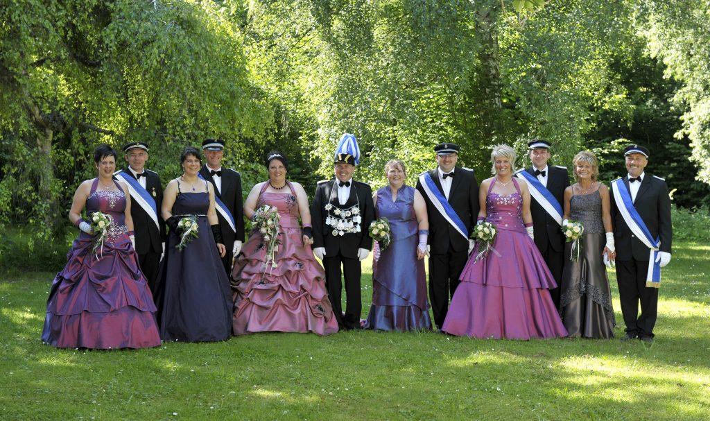 Majestäten Welda 2010