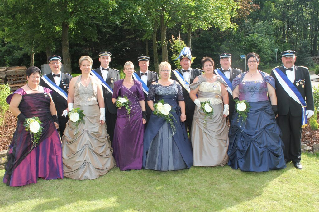 Majestäten Welda 2012