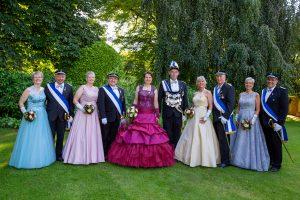Majestäten mit Hofstaat Welda 2019