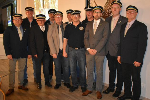Der Vorstand des Heimatschutzverein Welda