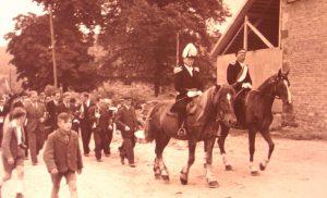 Historische Fotos vom Vorstand des Heimatschutzverein Welda