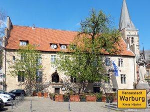 Warburg Altstadt Marktplatz