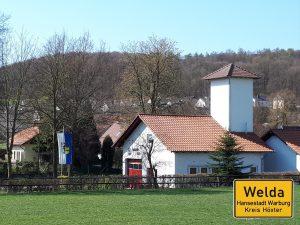 Welda Feuerwehrgerätehaus
