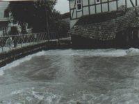 Welda Hochwasser 1965 - alte Brücke